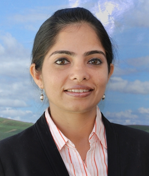 Dr. Vaishali Sharda, Postdoctoral Research Associate, 2013-2014